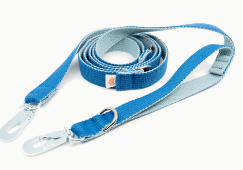 Two Tone Multifunctional Blue Leash