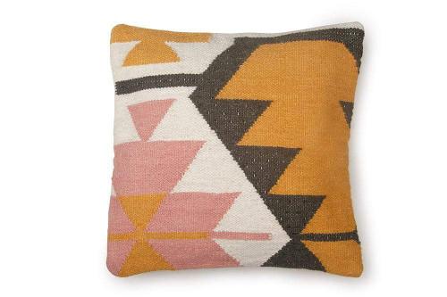 Desert Kilim Geometric Pillow