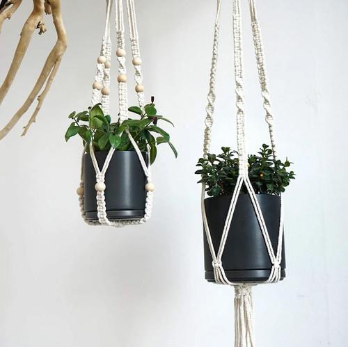 Black 4 Inch Minimalist Ceramic Planter