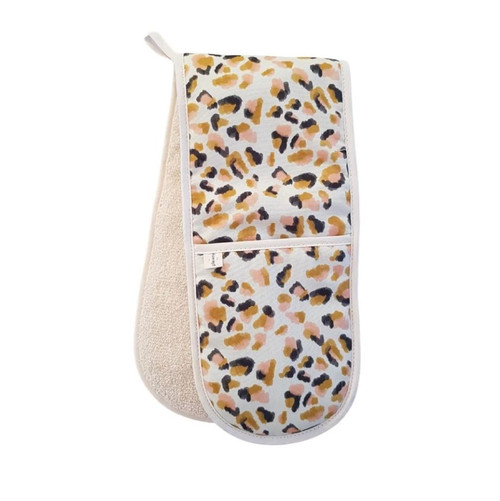 Leopard Print Oven Gloves