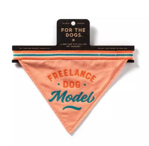 Freelance Dog Model Bandana