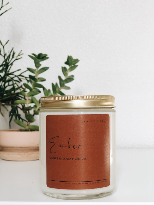 Ember Scent Coconut + Soy Wax Candle