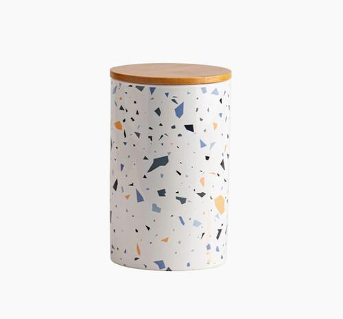 Terrazzo Print Treat Jar