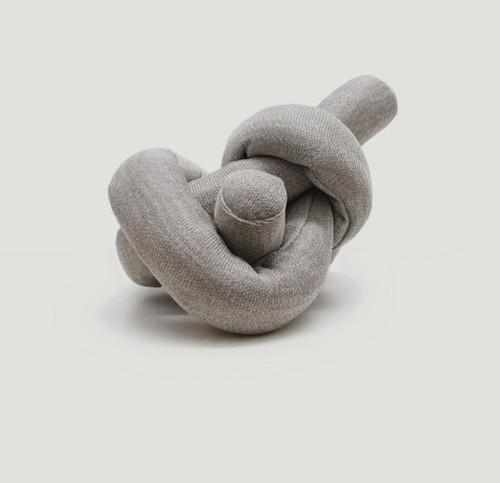 Nou Grey Crinkle Cluster Dog Toy
