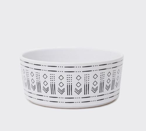 Mudcloth Print Ceramic Bowl V.1