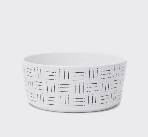 Mudcloth Print Ceramic Bowl V.2