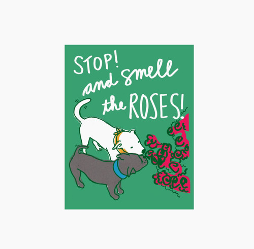 Smell The Roses Postcard
