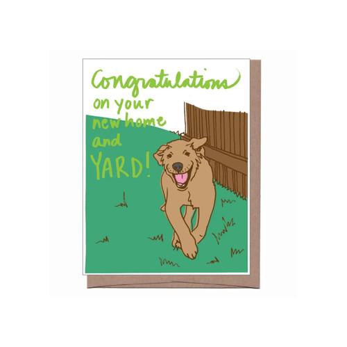 New Yard Card
