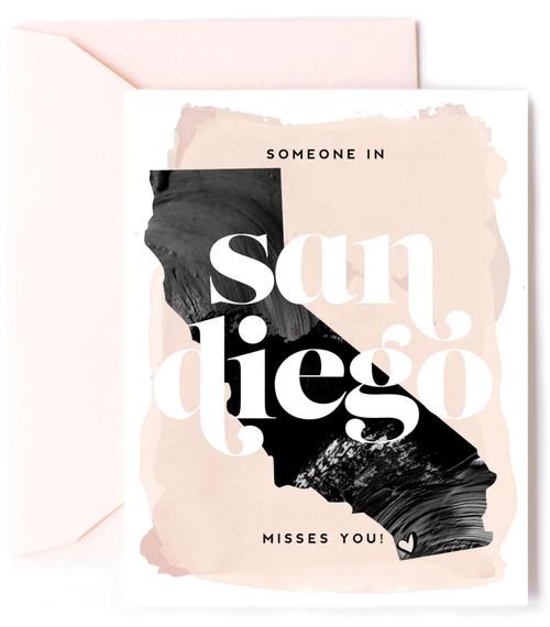 San Diego Miss You Card