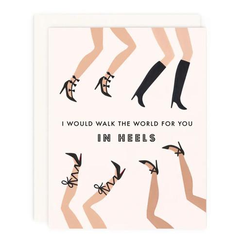Walk the World Greeting Card