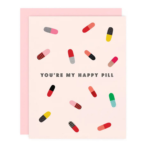 Happy Pill Greeting Card