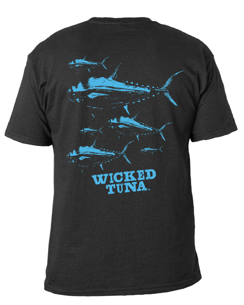 9ebd44c6 So Many Tuna! Pocket Tee - Wicked Tuna Gear