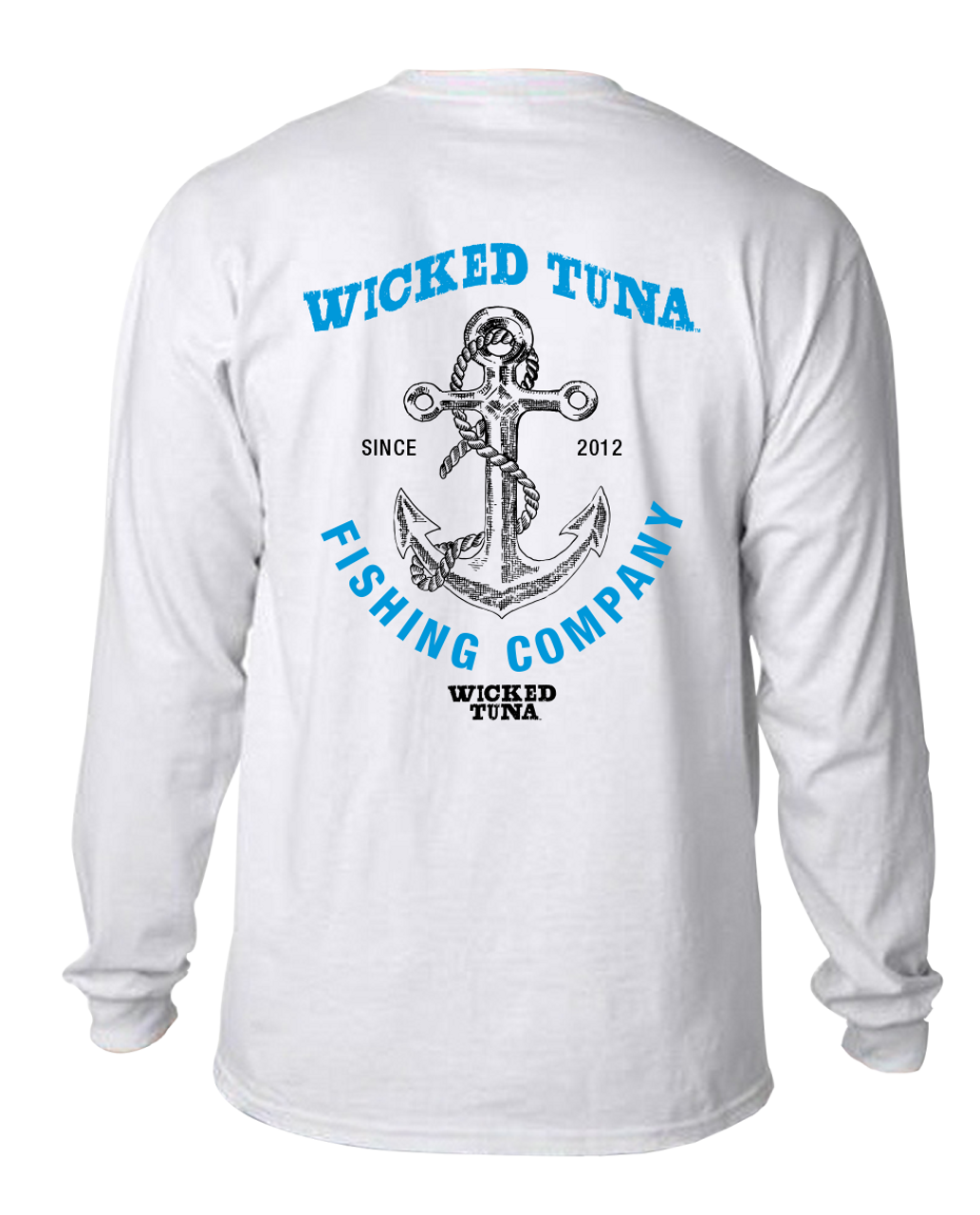 dbd4b2a3 Wicked Tuna Anchor Long Sleeve Pocket Tee - Wicked Tuna Gear