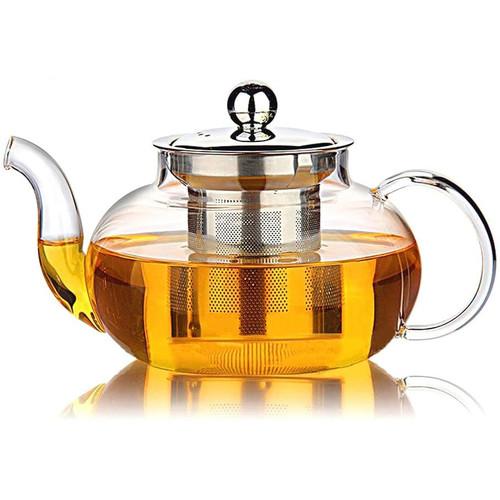 Kai Tea clear glass teapot