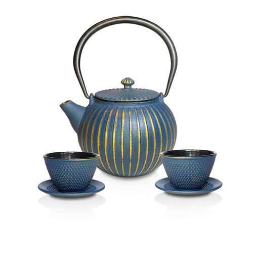 Kai Tea Cast Iron Teapots set