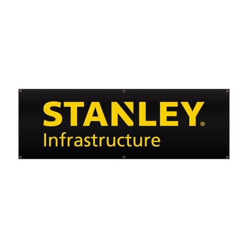 STANLEY Infrastructure Vinyl Banner 2' x 6'