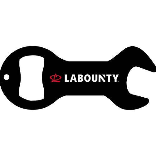 LaBounty Wrench Key Chain Bottle Opener