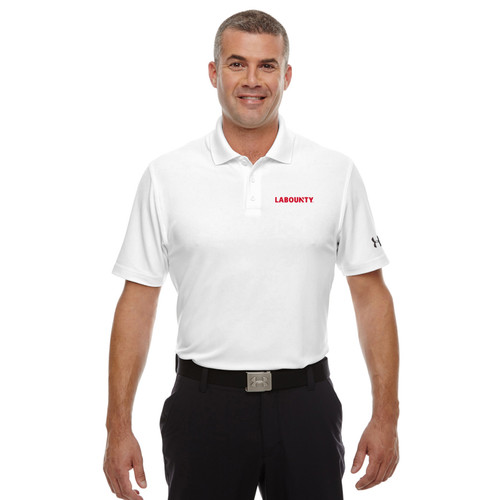 LaBounty Under Armour Men's Corp Performance Polo