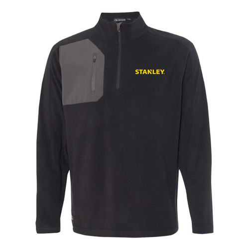 STANLEY Dri Duck Men's 100% Polyester Nano Fleece TM 1/4 Zip Interval Pullover