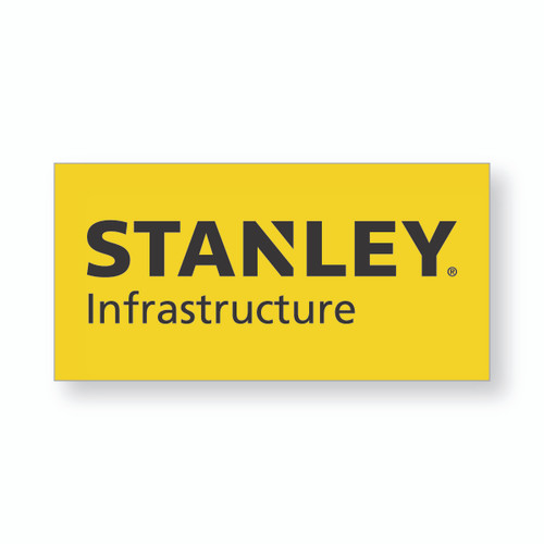 """STANLEY Infrastructure Decal 2.5"""" x 5"""""""