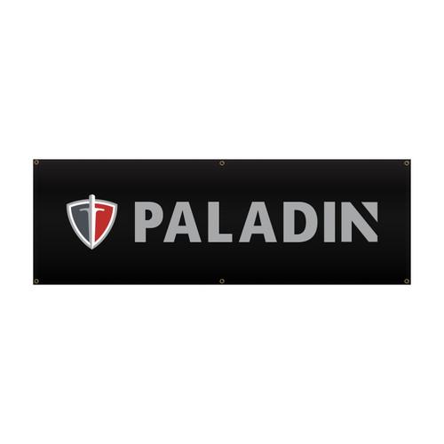Paladin Vinyl Banner 2' x 6'