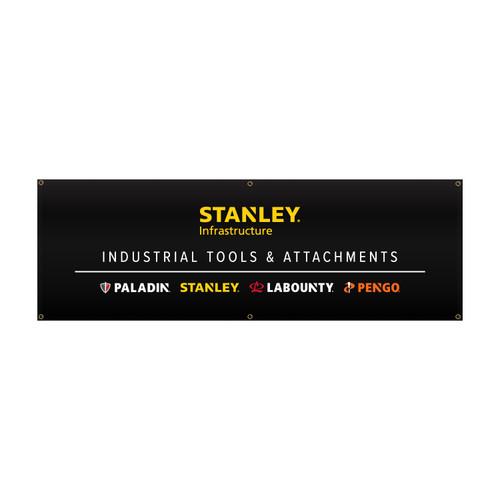 STANLEY Brand Group Vinyl Banner 2' x 6'