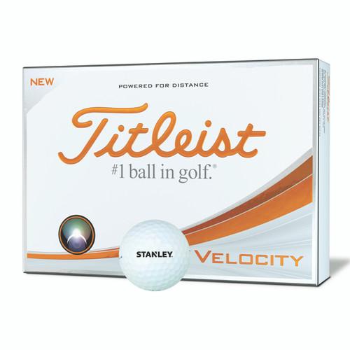 STANLEY Titleist Velocity Golf Balls (Dozen)