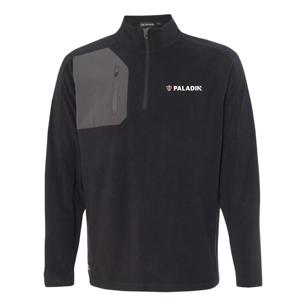 Paladin Dri Duck Men's 100% Polyester Nano Fleece TM 1/4 Zip Interval Pullover