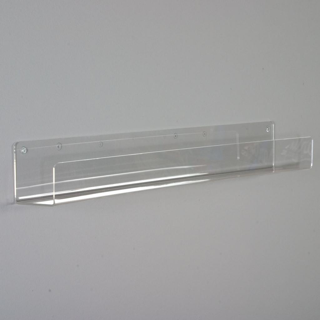 Fantastic Clear Flat Shelves 3 1 2 Deep Interior Design Ideas Clesiryabchikinfo