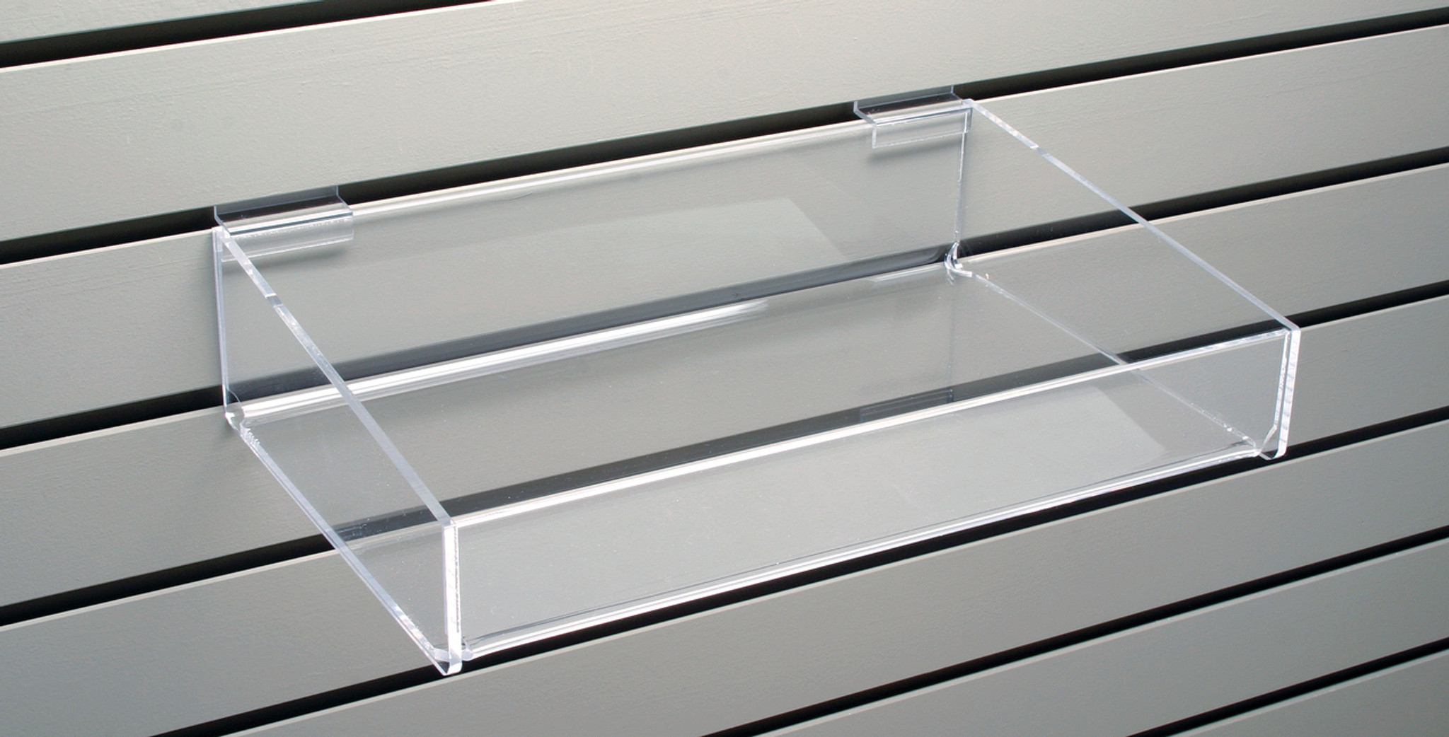 Shelf With Sides For Slatwall