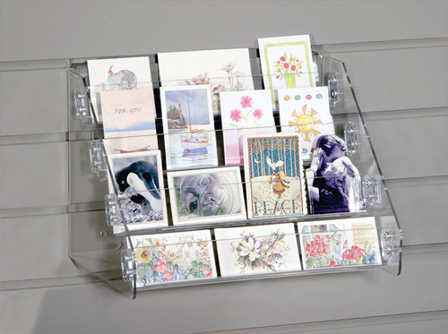 Gift Enclosure/Mini Book Display for Slatwall (8907SW)