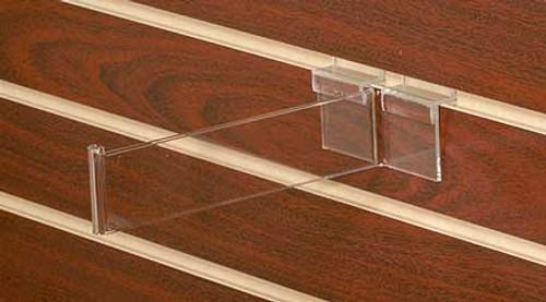 Clear Acrylic Slatwall Hook - Back Aisle Special (8570)