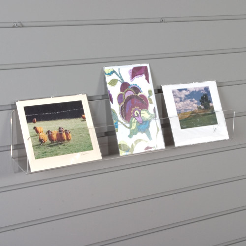 card shelf for slatwall