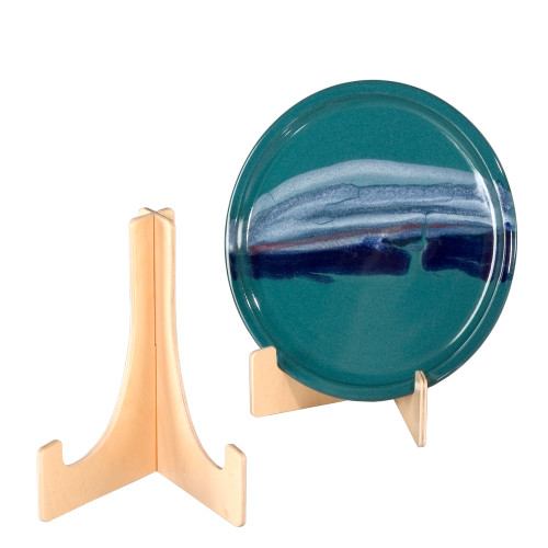 4735 wooden plate stand