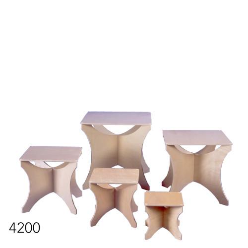 Wood riser group
