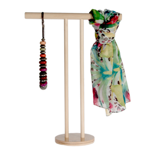 """15"""" high ply accessories display for jewelry."""
