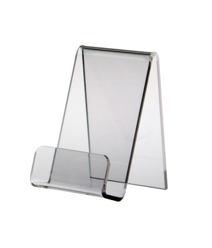 Small clear acrylic easel stand.