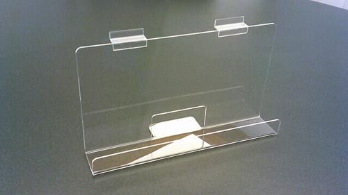 """Back Aisle Special - 13"""" wide Slatwall Shelf angled view"""