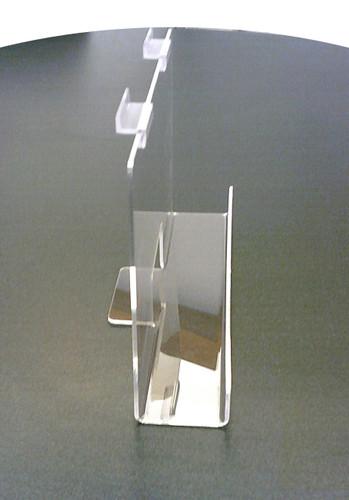 "Back Aisle Special - 13"" wide Slatwall Shelf side"