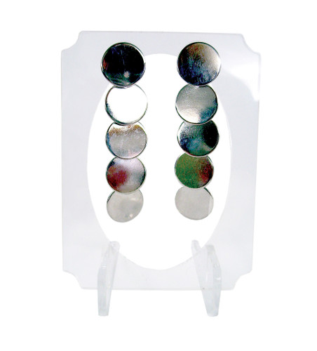 Clear acrylic small easel for earrings.