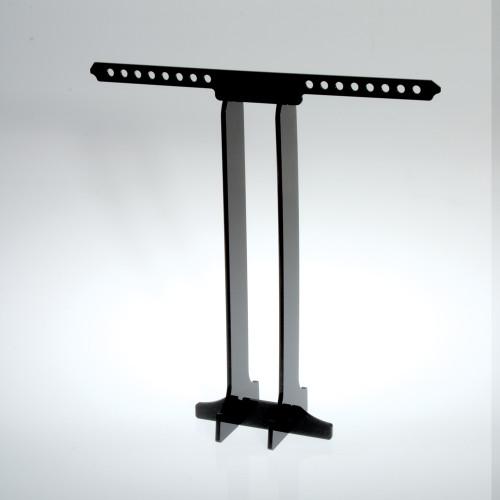 8789 black acrylic necklace display