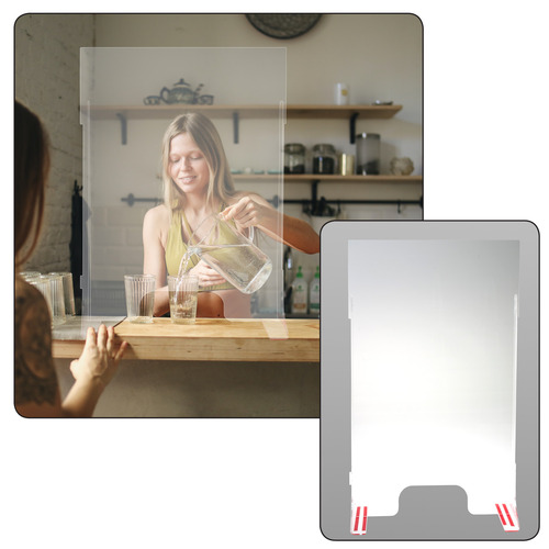 Clear Acrylic Retail Shield