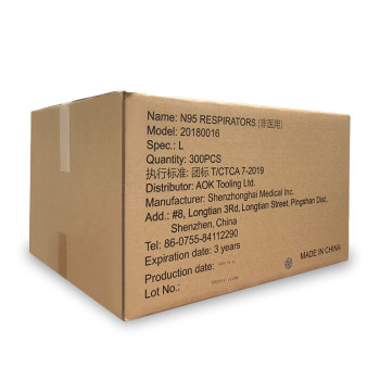 N95 RESPIRATORS - BULK (30 Boxes of 10 N95 Mask)