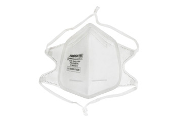 Protekx, N95 Respirators, Foldable Mask With Adjustable Straps and Premium Grade Silicone Seal, White, Emergency Utiliza tion Authorized, FDA approved, Disposable, for single use only, Use to filter particles from metals, wood, minerals, coal, iron ore, cotton, pollen, flour and certain other substances, as well as liquid or non-oily particles from aerosols, NaCI filtration efficiency ≥95%, Inhalation/exhalation resistance ≤25mmH2O, NIOSH number: TC-84A-8131, Non woven fabric, melt-blown non woven fabric, silicone, Polypropylene, bulk , 1 carton, 30 boxes