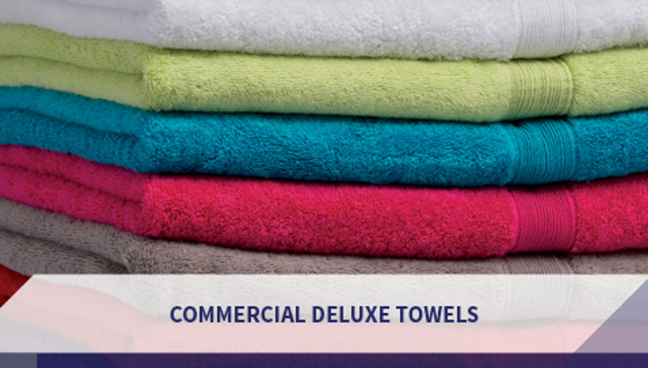 Commercial Deluxe Towels