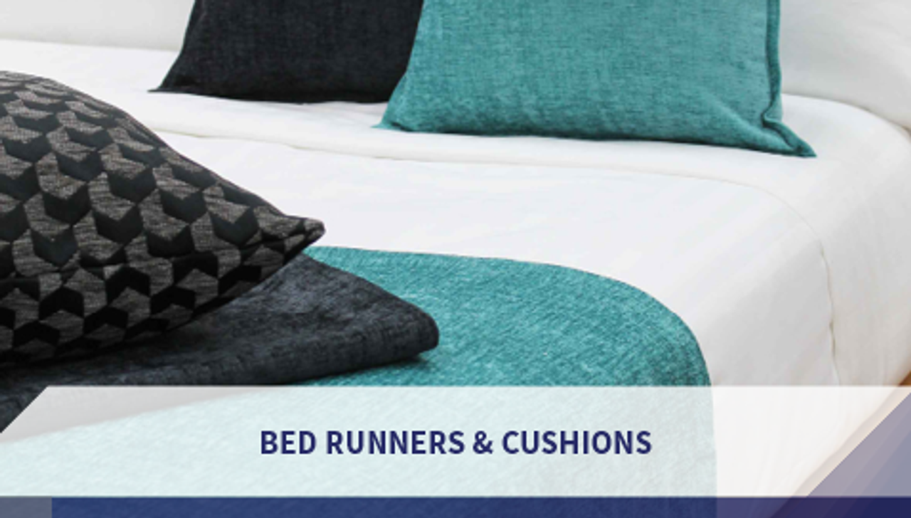 Bed Runners & Cushions