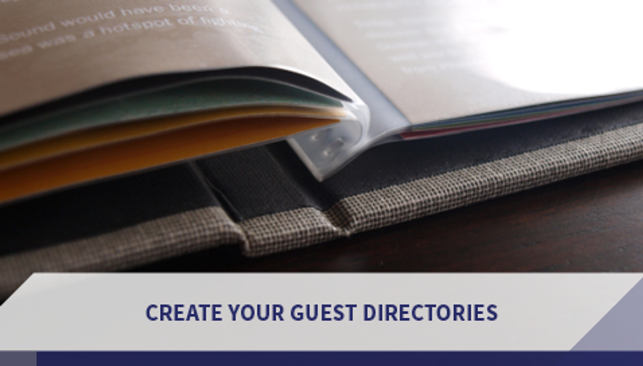 Create Your Guest Directories