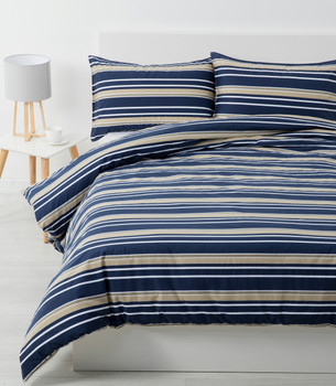 Stripe Quilt Cover Set