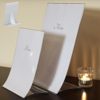 Foldable Menu Stand