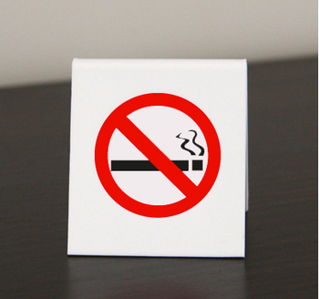 No Smoking A-Frame Sign